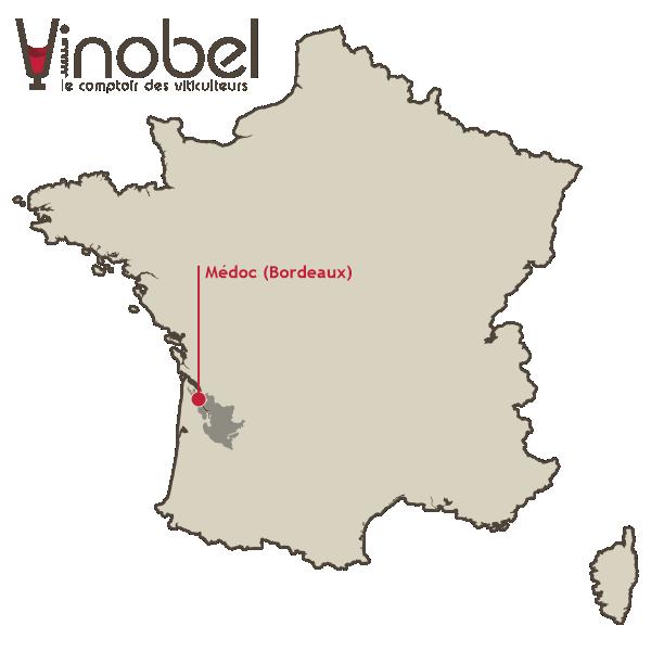Situation du Médoc