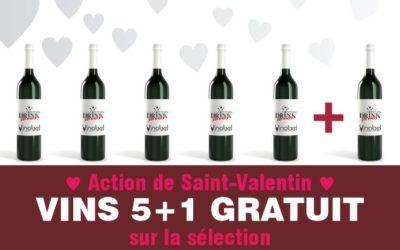 Ces 5 et 6/2, découvrez notre sélection pour la «Saint-Valentin»