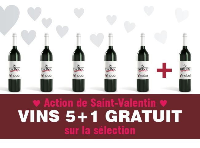 Action vins Saint-Valentin